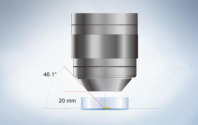 SZX16所用物镜具有很长的工作距离,能够使用手动和自动操控和注射工具
