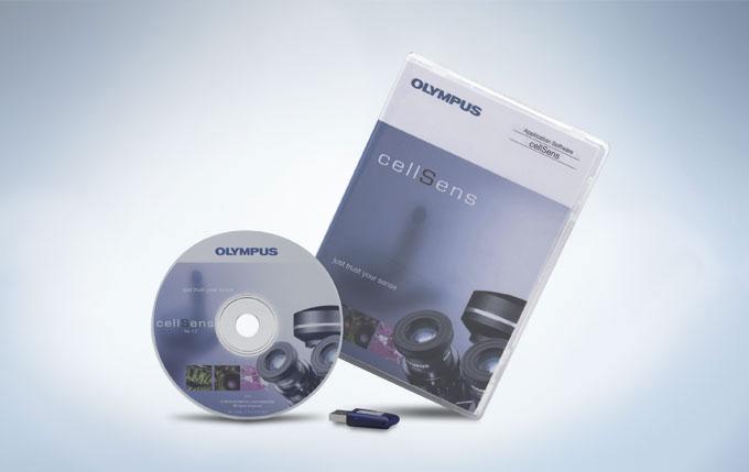 奥林巴斯cellSens软件